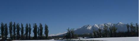 中富良野 本幸地区 早くも冬の訪れ
