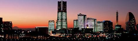 横浜  TOWERS Milight ~みなとみらい21 オフィス全館ライトアップ~