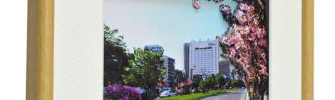 「旭川スタイル」の建物 3Dクラフトフォト作品